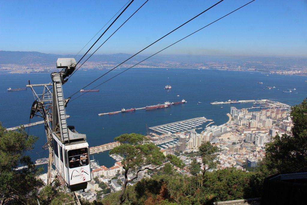 gibraltar cable car outdoors