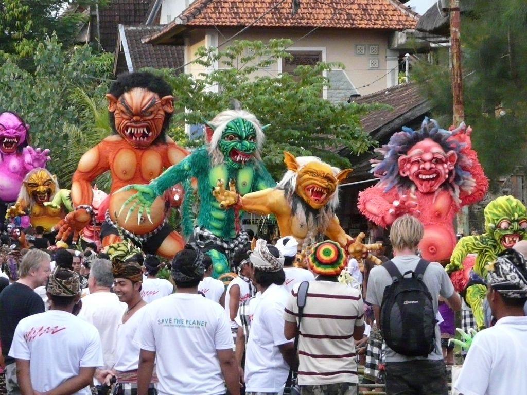 Ogog Nyepi Bali