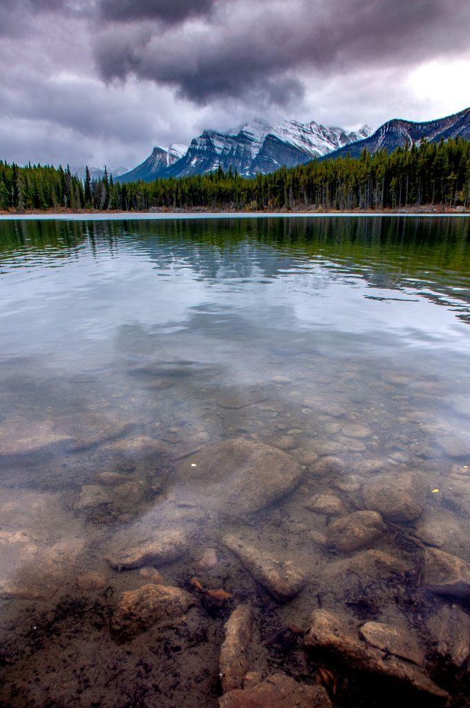 Herbert Lake Canadian Rockies hiking trip