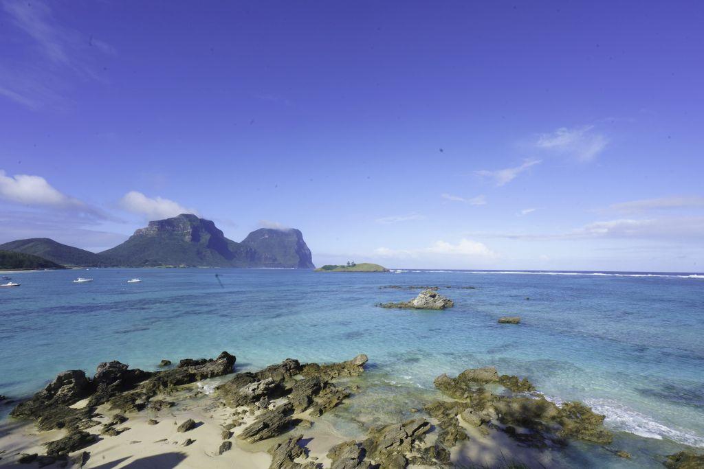 australia lord howe island lagoon