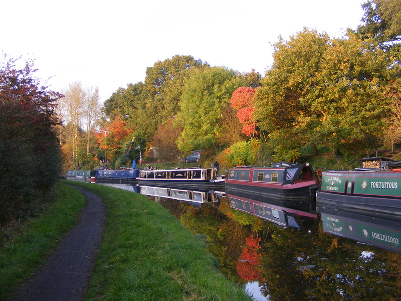 staffordshire canal uk trip