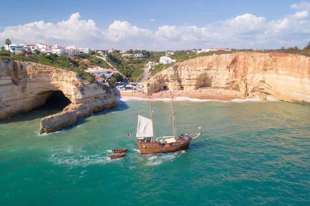 Algarve Benagil and Praia da Marinha