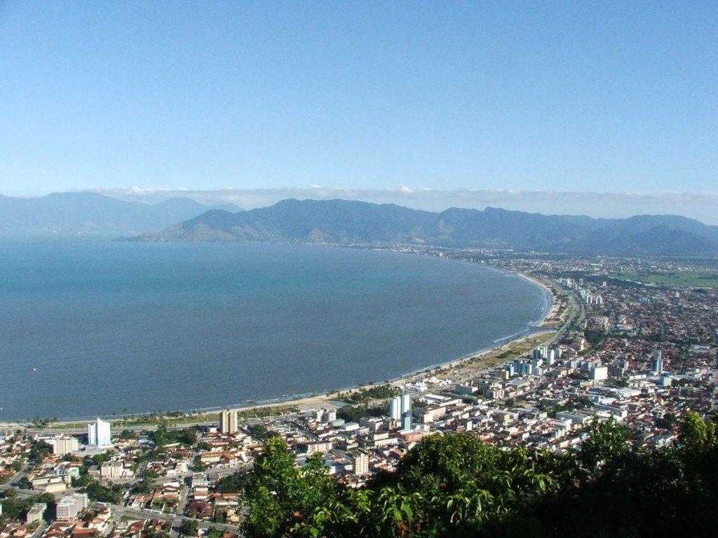 Caraguatatuba Shore in Brazil