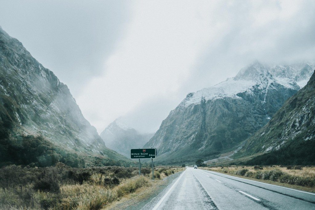 Milford Road, New Zealand
