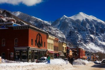 Telluride colorado top holiday travel destinations america trip