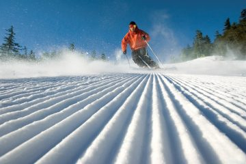 Maine trip adventure skiing. Photo Maine Office of Tourism
