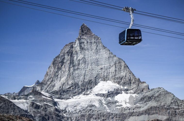 Swiss Alps: New gondola has sparkling crystals & glass floor for best views
