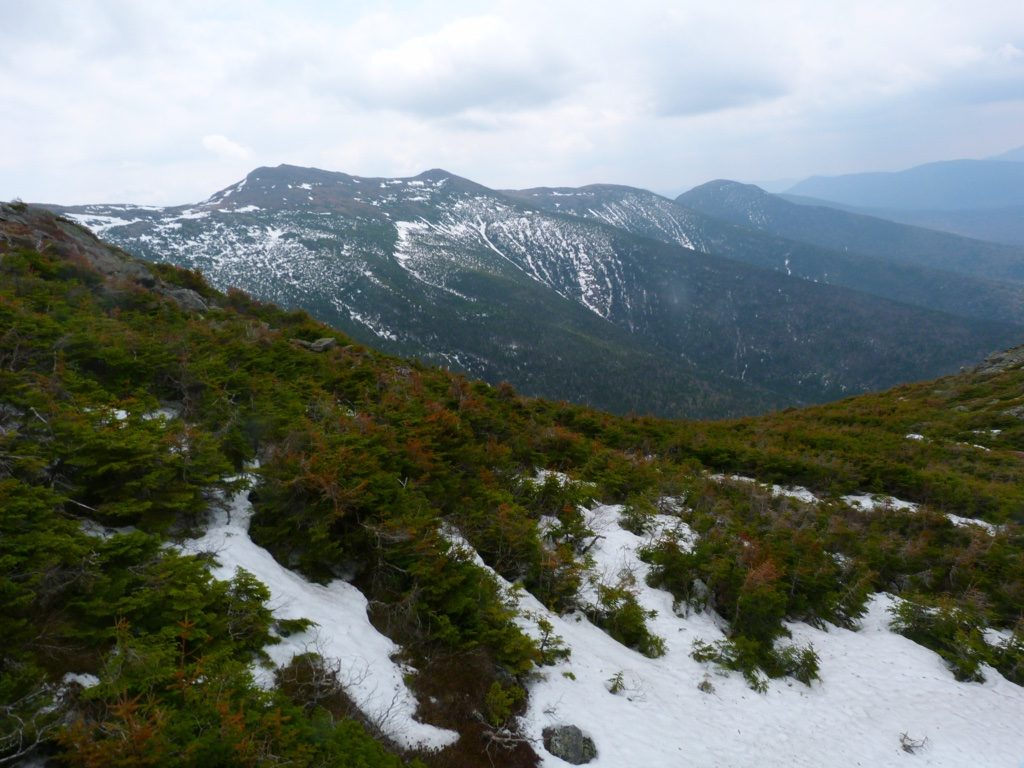 The view from atop Mount Washington.