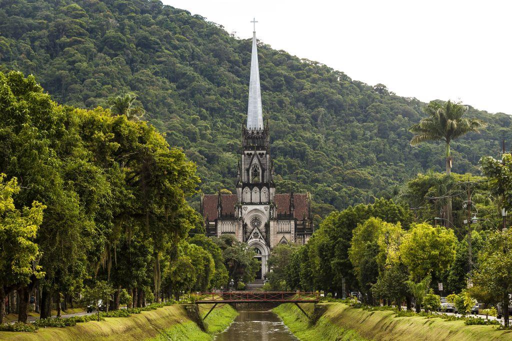 Brazil Cathedral Petropolis Copyright MTur