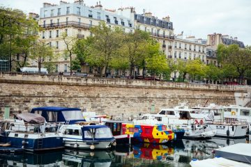 France paris photography boats seine