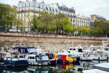 France paris photography boats seine