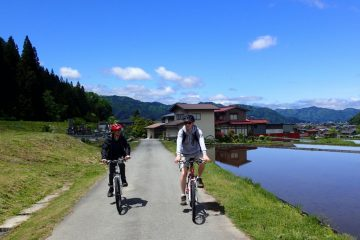 Hida satoyama cycling tour - credit JNTO - best cycling routes