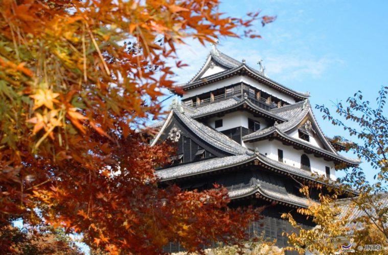 Matsue Castle. Shimane Japan autumn
