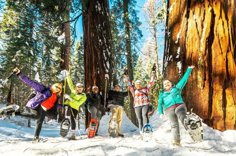 Snowshoeing in Yosemite National Park_ Credit Kim Carroll Tuolumne County
