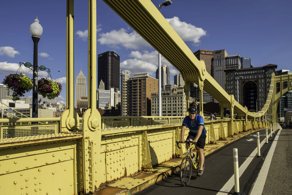 Visit Pittsburgh Bridge Bike