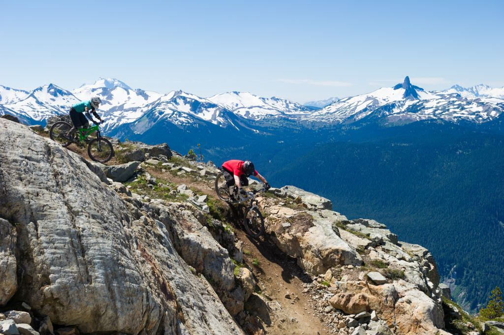 Epic Mountain Biking on the Whistler Bike Park's Top of the World Trail