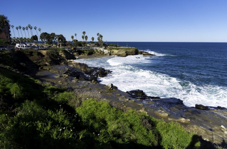 La Jolla Cove in San Diego, California