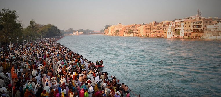 Ganges During Kumbh Mela