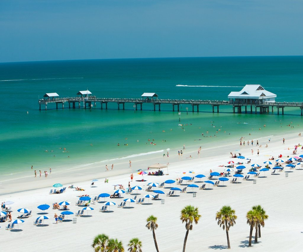 Clearwater Beach - Pier 60 Florida