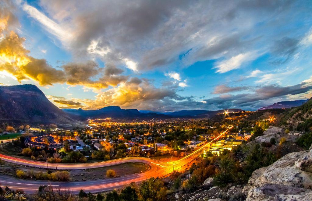 Durango at Dusk Photo Credit Mike Alcott