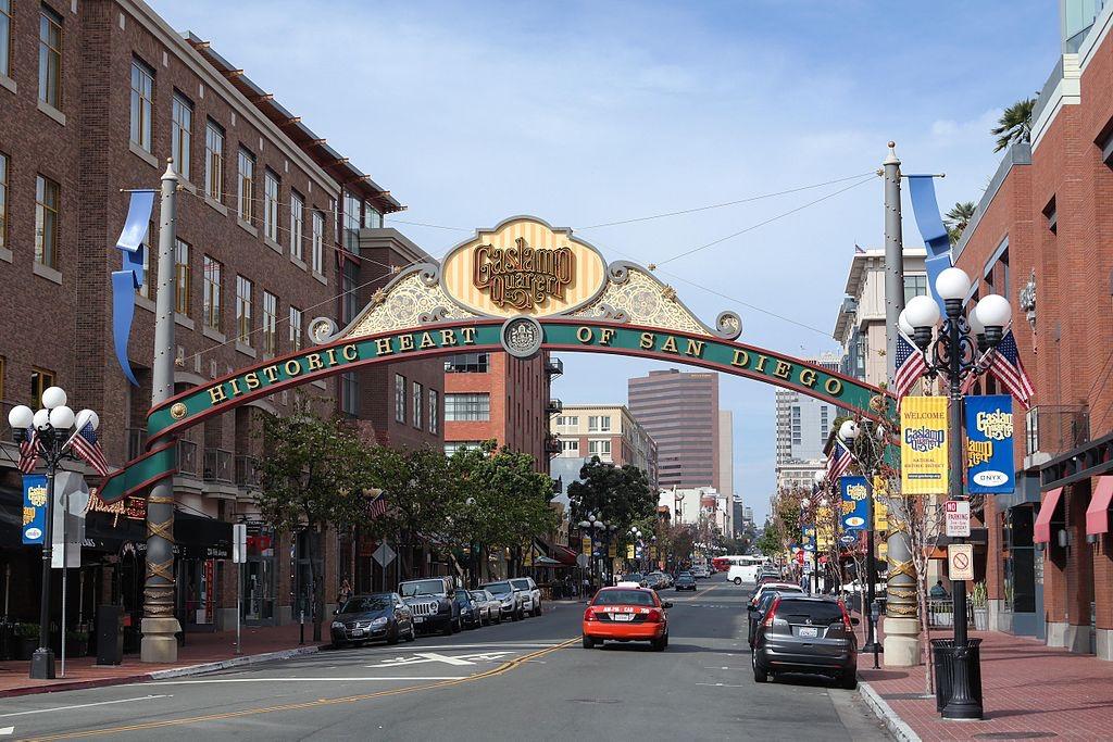 Gaslamp Quarter, San Diego, California