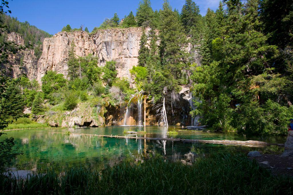 Summer Hiking in Glenwood Springs Colorado