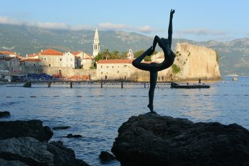 budva montenegro yoga lady how to care for your health as you travel