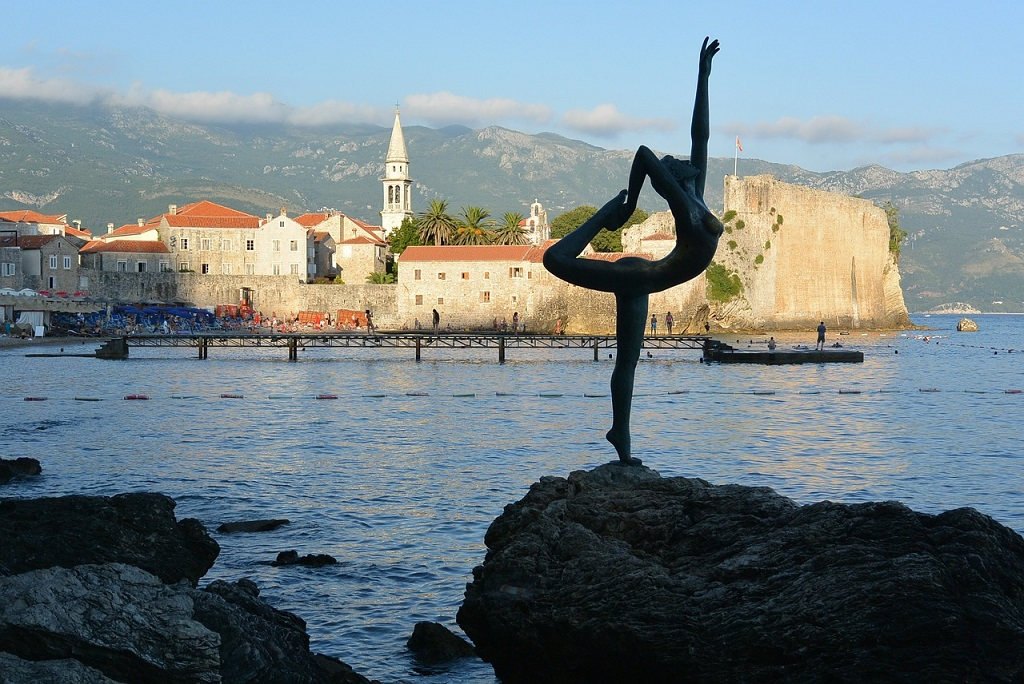 budva montenegro yoga lady best of the balkans