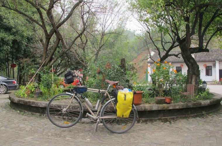 Bicycle in China covid-19 travel restrictions
