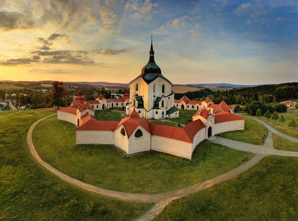 Žďár nad Sázavou Zelena Hora Czech Republic