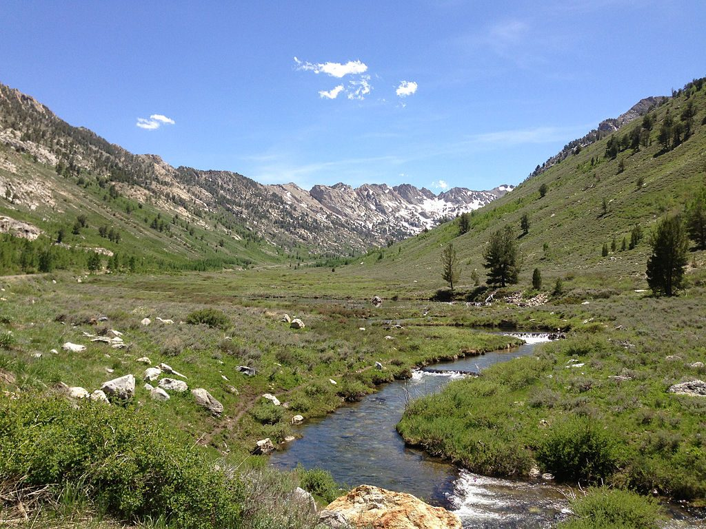 Lamoille Creek from Terraces Picnic Site in Nevada