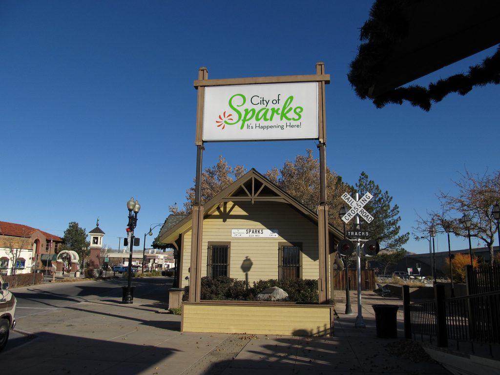Victorian Square, Sparks, Nevada