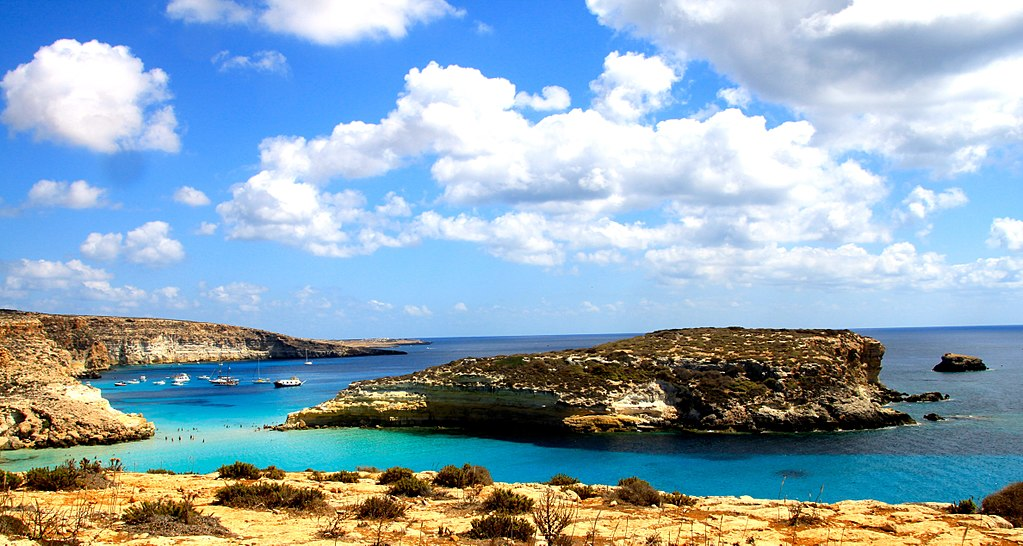 Isola_dei_Conigli_a_Lampedusa italy