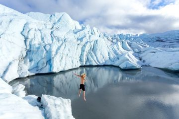 Quin Glacier Jump TaylorBurk