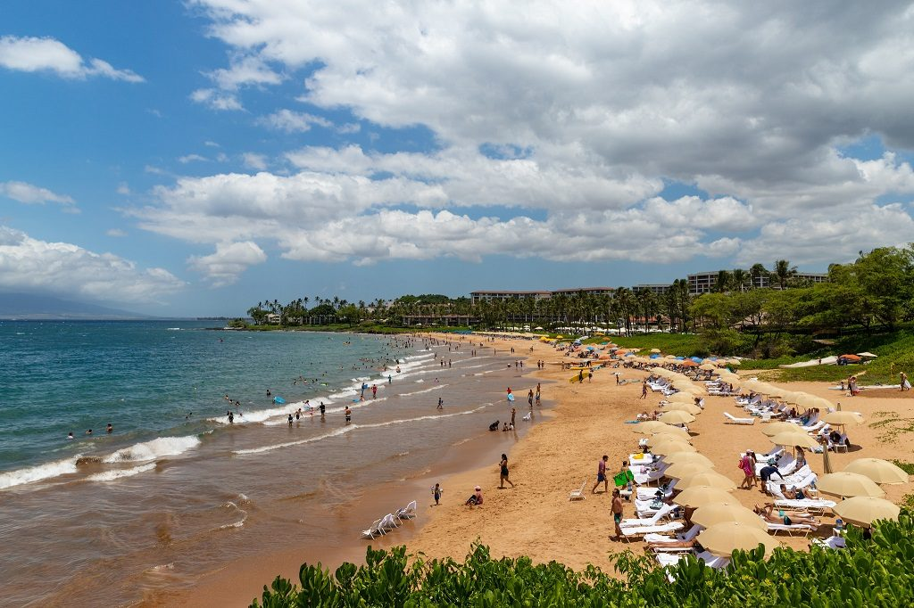Wailea Beach Maui, Hawaii