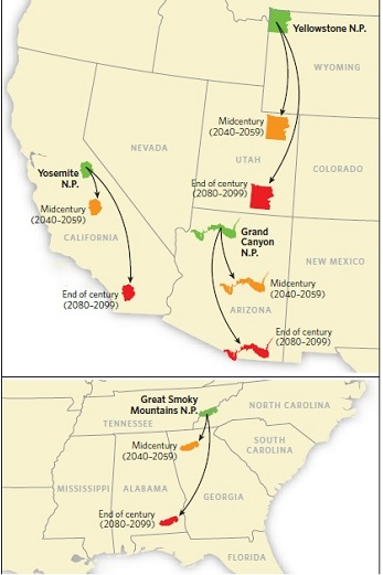 map grand canyon