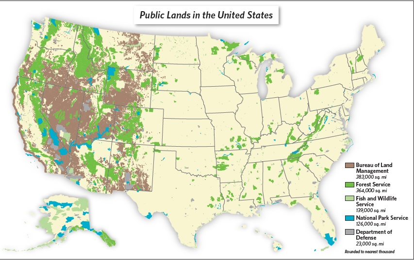 public lands in the US