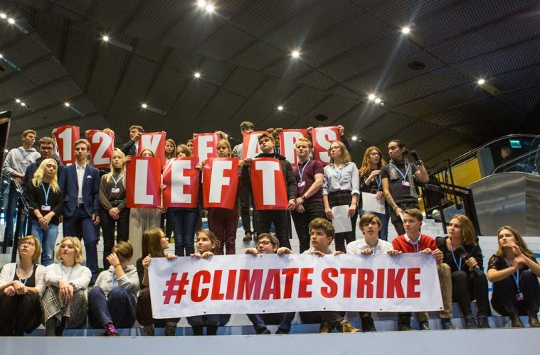 Students climate change strike