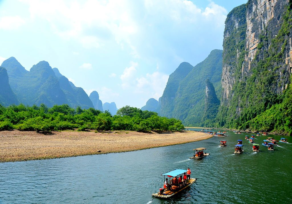 The Li River in China