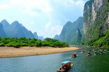 The Li River in China zodiac sign travel
