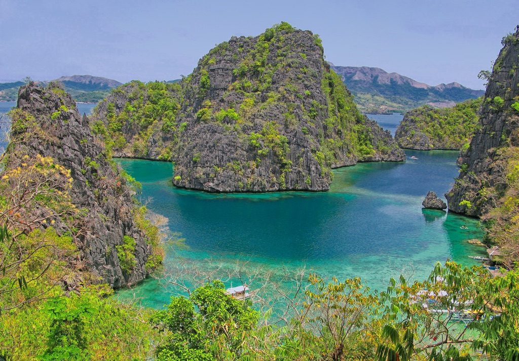 Coron Island in the Philippines