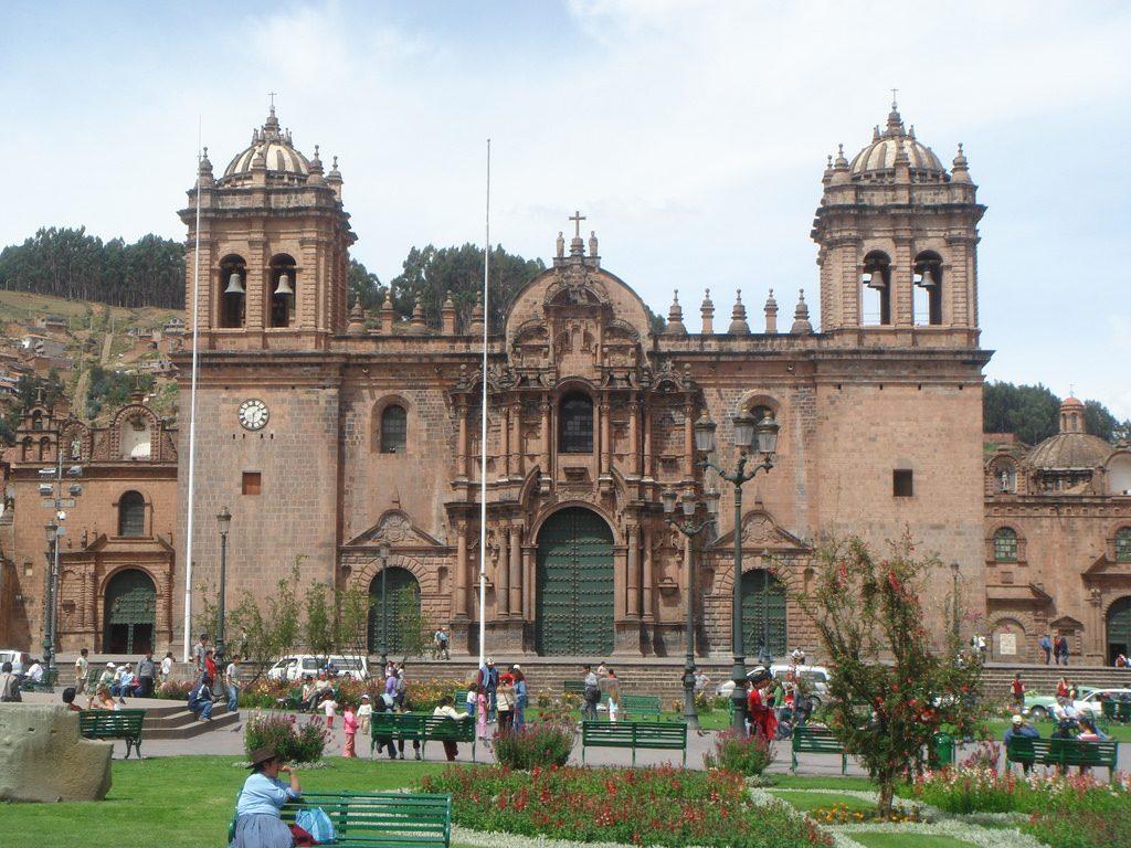 Cusco, Peru Iglesia De La Compania De Jesus
