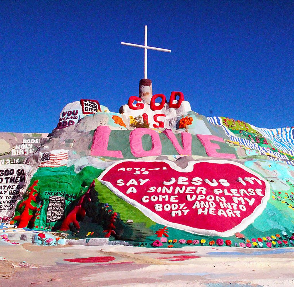 Greater Palm Springs Salvation Mountain