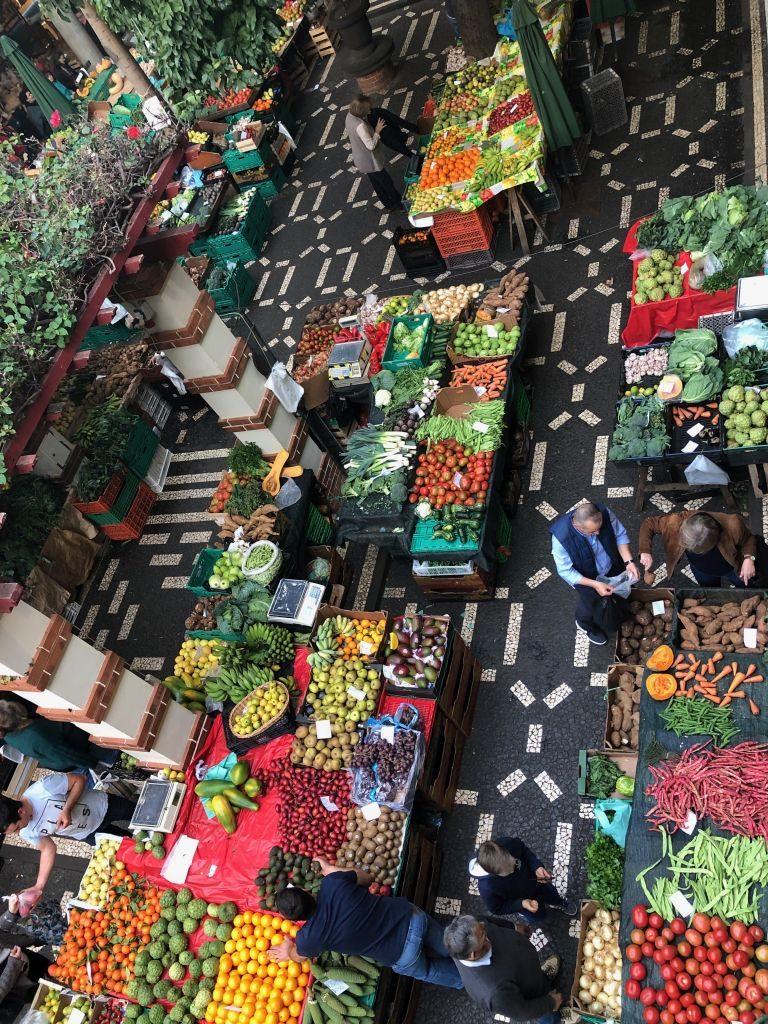 Madiera - market