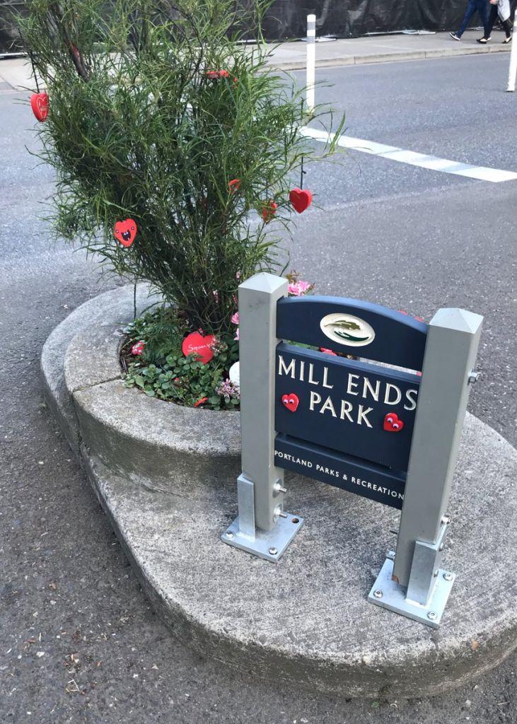 Mills Ends Park Portland