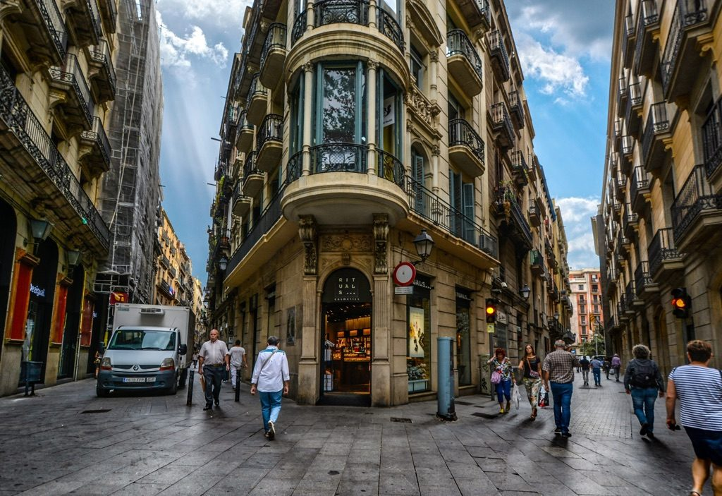 Gothic Quarter in Barcelona travel deals
