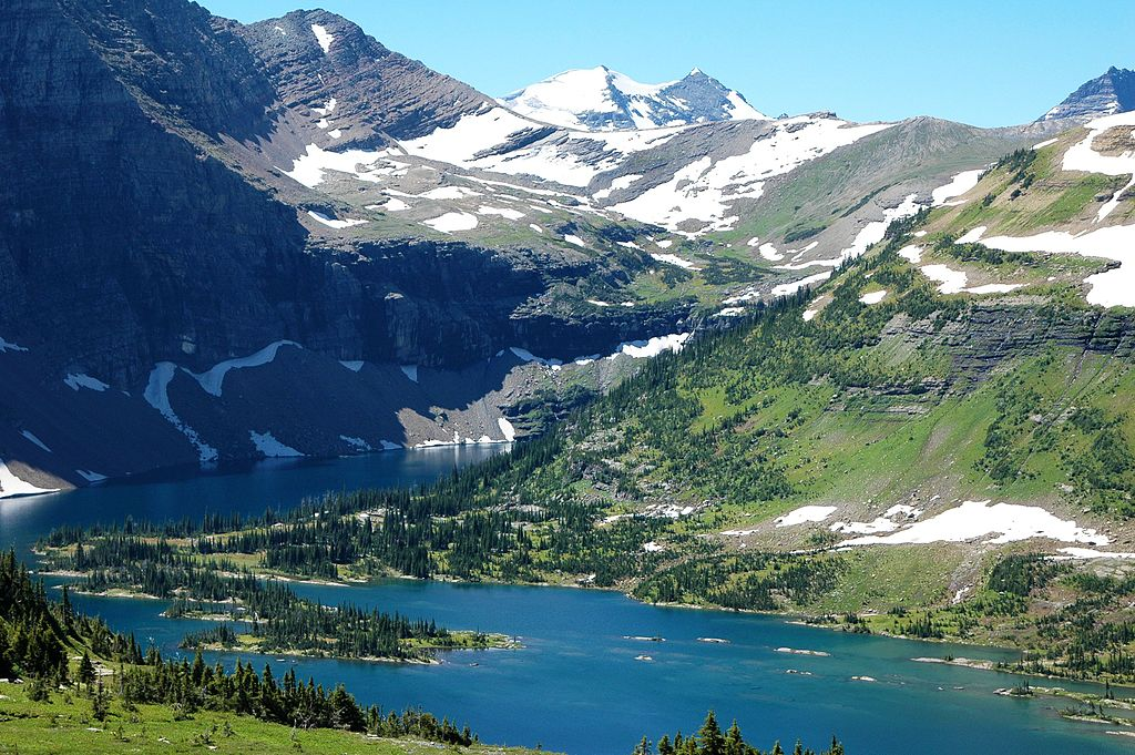 Glacier National Park, Montana in July