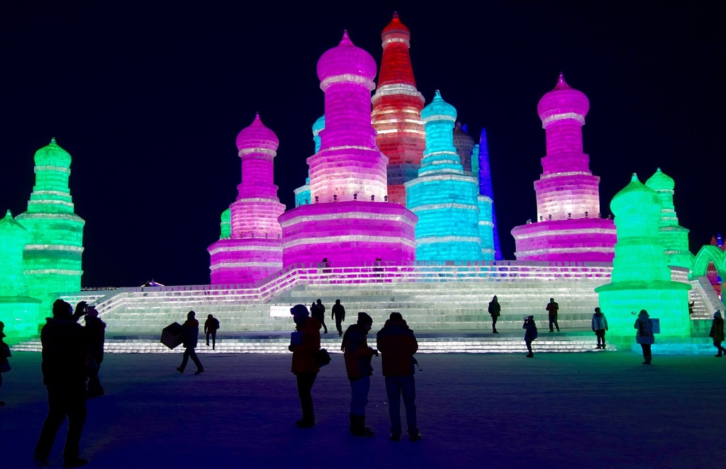 Snow and ice festival in China