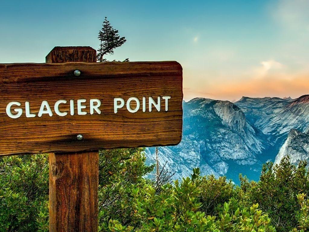 glacier point Yosemite hiking tour