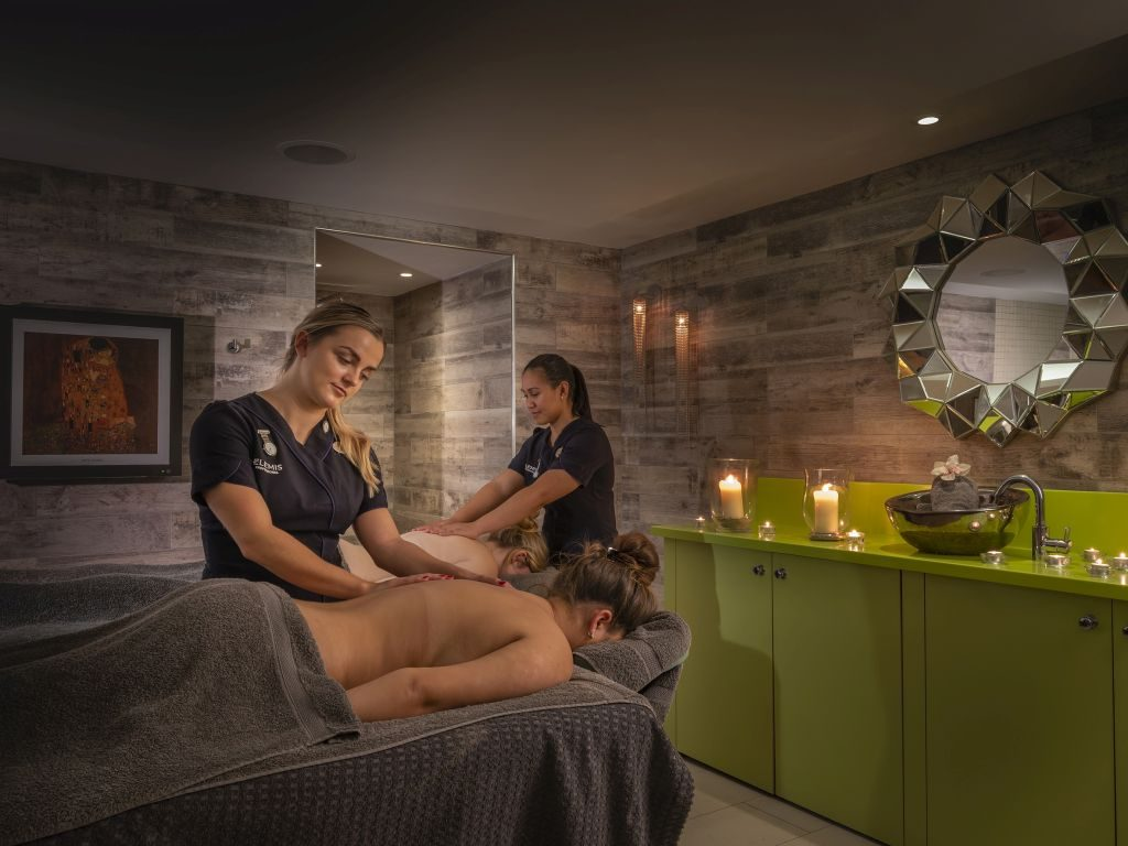 Dual treatment at The Headland Spa